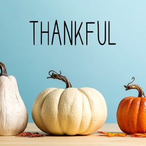 November is Thankful Month